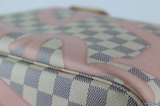 Louis Vuitton Neverfull Mm Tahitienne Neverfull Tahitienne Tote in Damier Azur Image 4