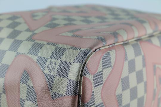 Louis Vuitton Neverfull Mm Tahitienne Neverfull Tahitienne Tote in Damier Azur Image 7
