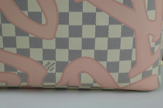 Louis Vuitton Neverfull Mm Tahitienne Neverfull Tahitienne Tote in Damier Azur Image 9