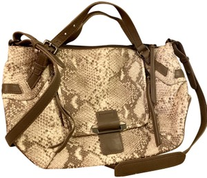 Kooba Snakeskin Cross Body Bag