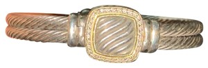 David Yurman two toned with diamonds
