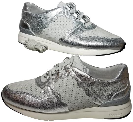 Preload https://img-static.tradesy.com/item/24945699/cole-haan-gray-silver-womens-sneakers-grandpro-leather-suede-lace-up-graysilver-sneakers-size-us-85-0-1-540-540.jpg