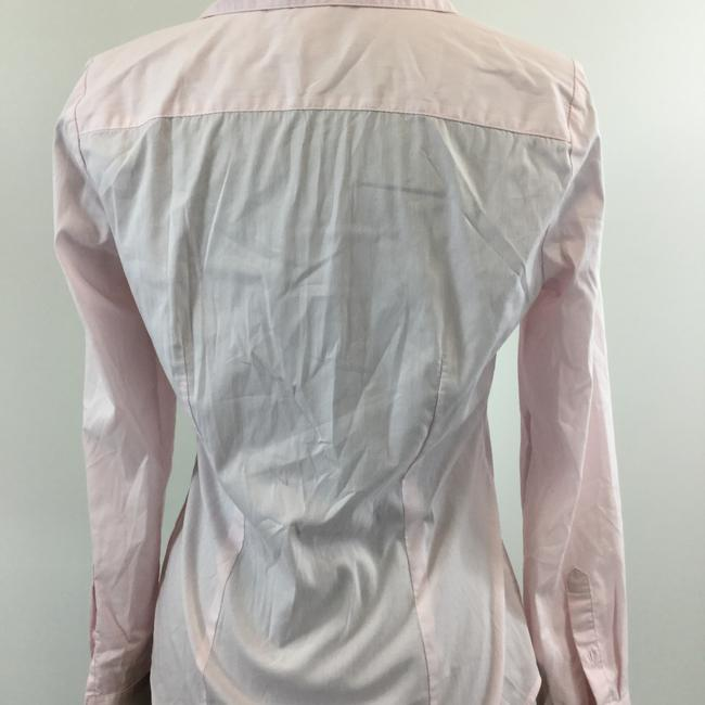 H&M Button Down Shirt Pink Image 2