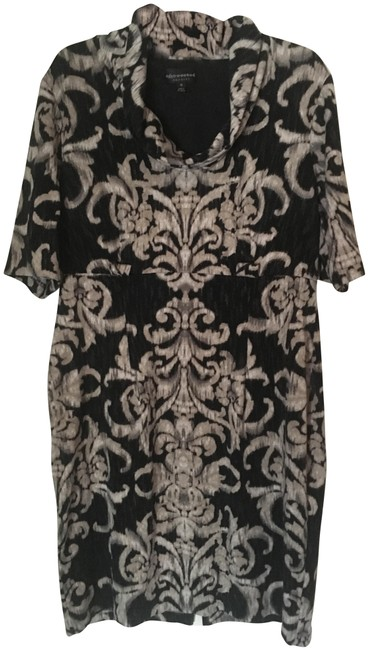 Preload https://img-static.tradesy.com/item/24945877/connected-apparel-black-and-tan-career-mid-length-workoffice-dress-size-16-xl-plus-0x-0-1-650-650.jpg