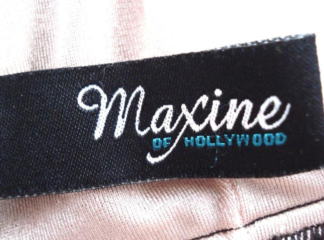 Maxine of Hollywood MAXINE OF HOLLYWOOD Brown Teal POLKA DOT SKIRT One Piece SWIM SUIT 8 Image 11