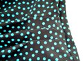 Maxine of Hollywood MAXINE OF HOLLYWOOD Brown Teal POLKA DOT SKIRT One Piece SWIM SUIT 8 Image 6