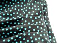 Maxine of Hollywood MAXINE OF HOLLYWOOD Brown Teal POLKA DOT SKIRT One Piece SWIM SUIT 8 Image 7