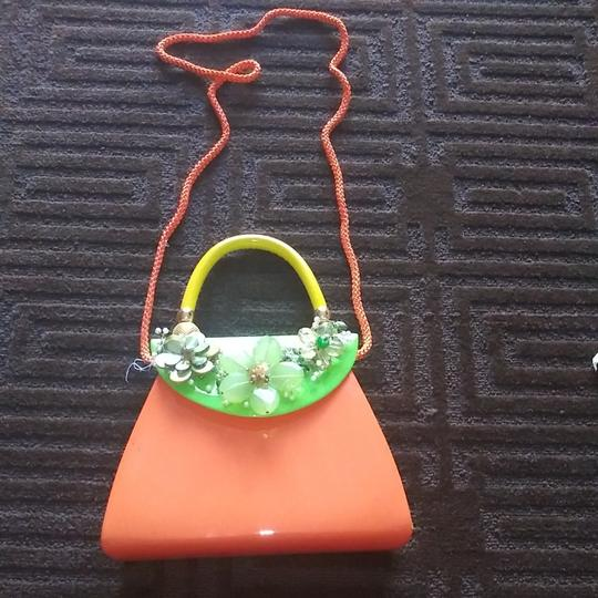 iris lane Satchel in Orange Image 1