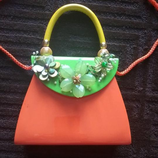 iris lane Satchel in Orange Image 2