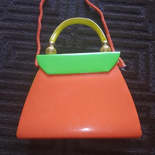 iris lane Satchel in Orange Image 4