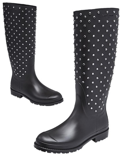 Preload https://img-static.tradesy.com/item/24946017/saint-laurent-black-yves-rubber-and-crystal-embellished-festival-rain-bootsbooties-size-eu-41-approx-0-1-540-540.jpg