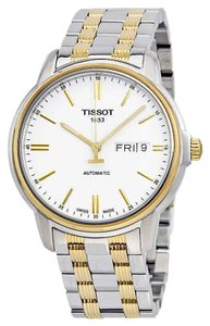 Tissot T-Classic Automatic Stainless Steel Gold Round Men's Watch