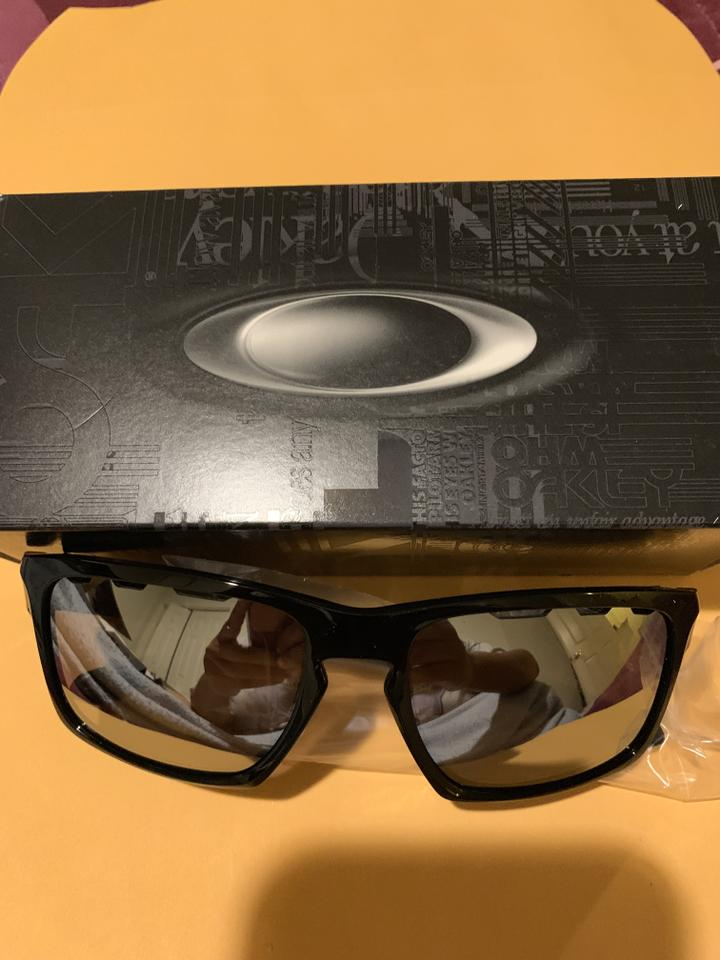 ad70ff25da Oakley Black Chrome Iridium Vented Oo9262 926242 Sunglasses - Tradesy