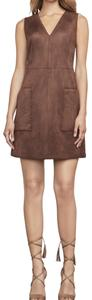 BCBGMAXAZRIA short dress chocolate on Tradesy