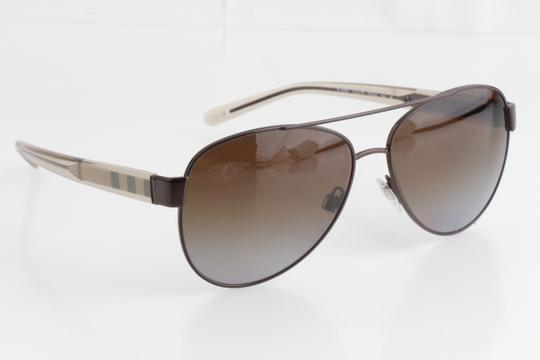 Burberry Burberry BE3084 57 Brown Polarized Sunglasses Image 6