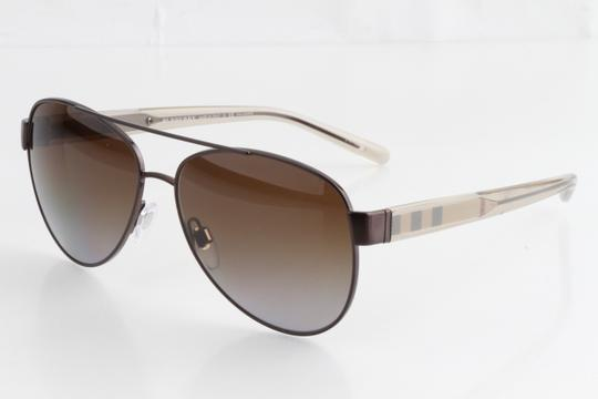 Burberry Burberry BE3084 57 Brown Polarized Sunglasses Image 7