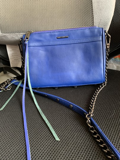 Rebecca Minkoff Blue Messenger Bag Image 1