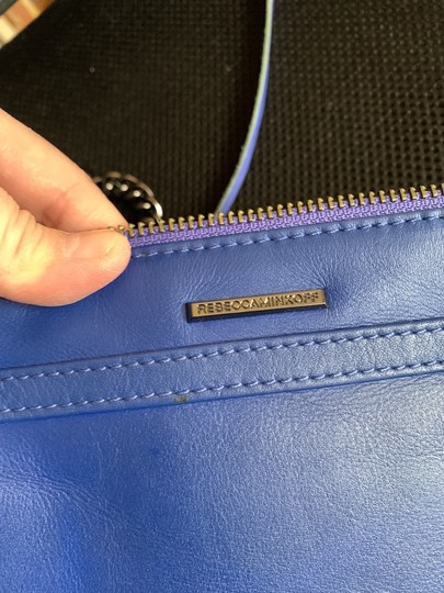 Rebecca Minkoff Blue Messenger Bag Image 3