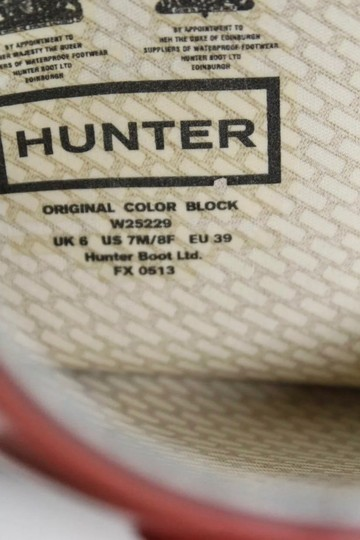 Hunter COLOR BLOCK Boots Image 4