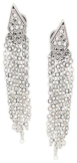 Preload https://img-static.tradesy.com/item/24946468/rebecca-minkoff-silver-pave-accented-earrings-0-1-540-540.jpg