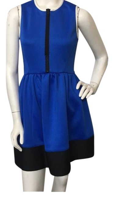 Preload https://img-static.tradesy.com/item/24946534/kate-spade-blue-neoprene-electric-color-block-zip-up-short-cocktail-dress-size-0-xs-0-1-650-650.jpg