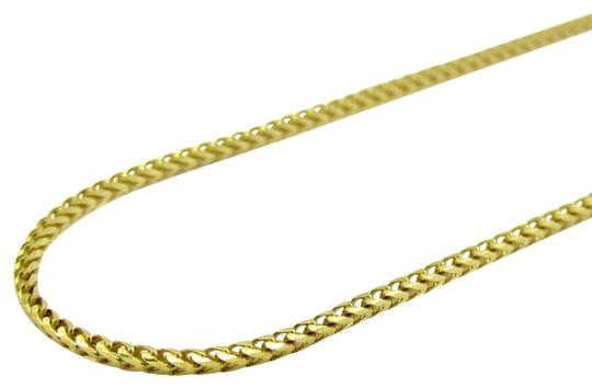 Preload https://img-static.tradesy.com/item/24946830/yellow-14k-real-gold-solid-skinny-franco-link-chain-16inch-necklace-0-1-540-540.jpg