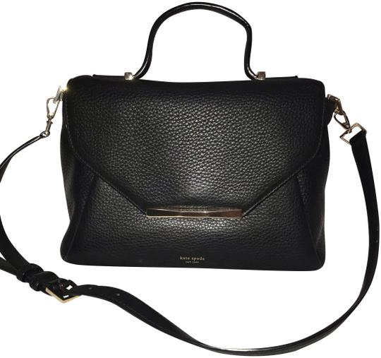 Preload https://img-static.tradesy.com/item/24947068/kate-spade-black-leather-satchel-0-1-540-540.jpg