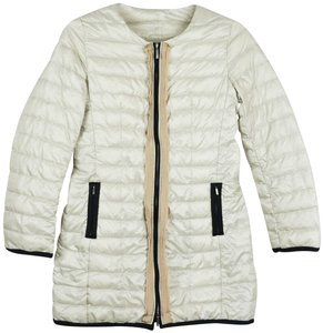 Max Mara Puffer Jacket Winter Coat Winter Designer Jacket Ivory Blazer