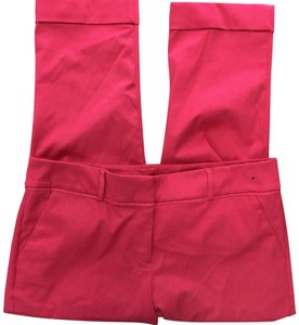 New York & Company Capri/Cropped Pants Pink