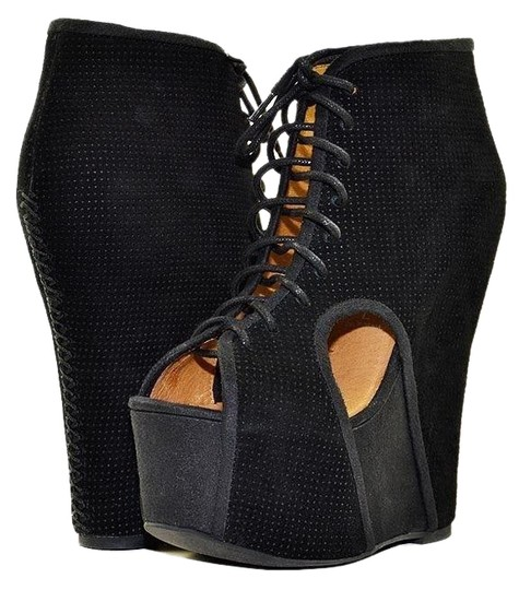 Jeffrey Campbell Black Boots Image 0