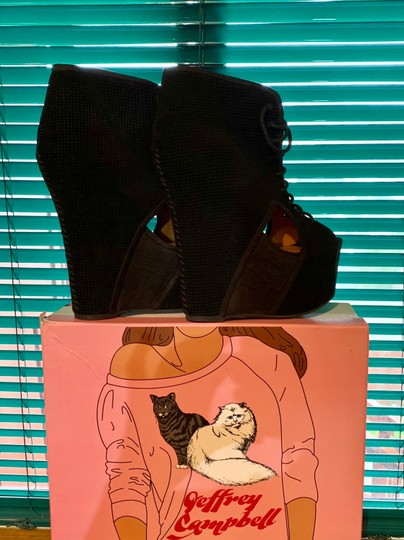 Jeffrey Campbell Black Boots Image 2