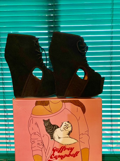 Jeffrey Campbell Black Boots Image 3