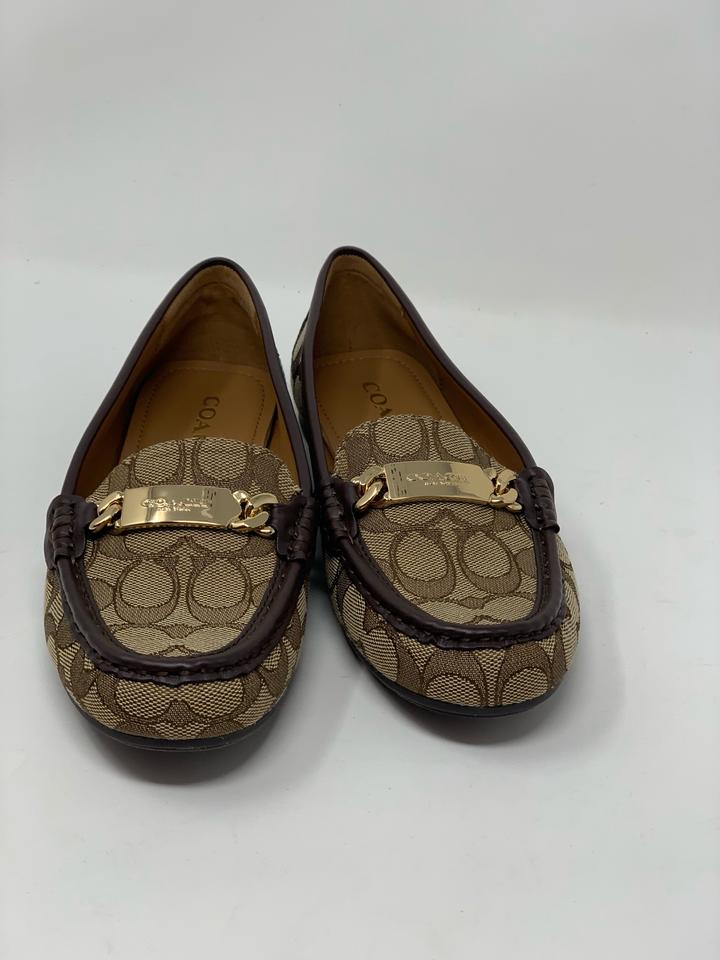 cb9b985de95 Coach Brown Signature Women s Moccasins Sneakers. Size  US 8.5 Regular ...