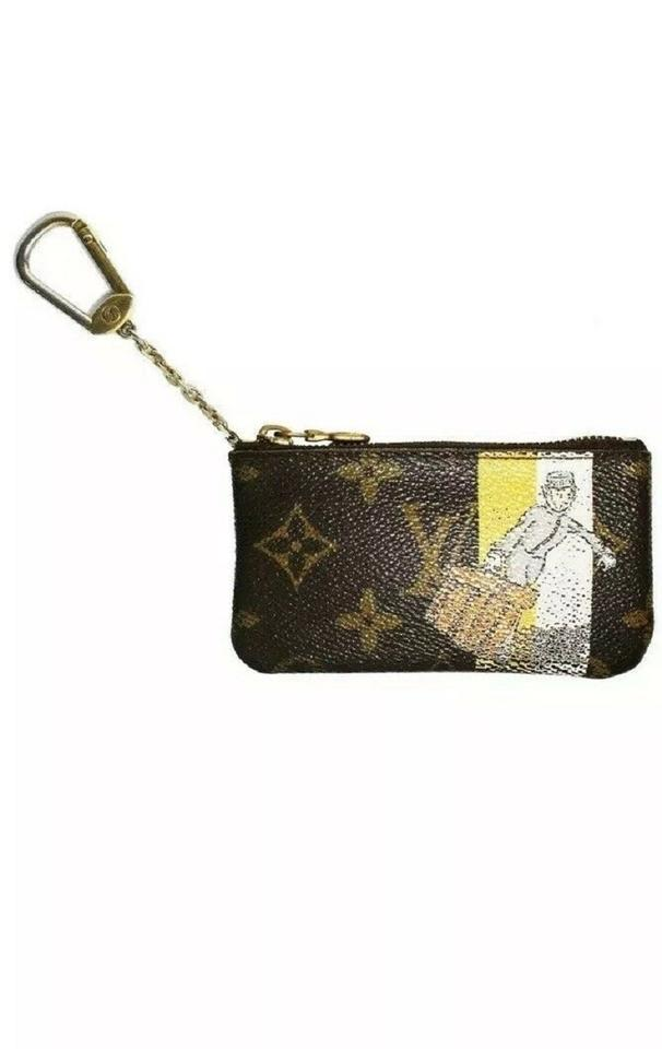 09d947c71b73 Louis Vuitton Yellow Monogram Groom Cles Coin Key Pouch Wallet - Tradesy