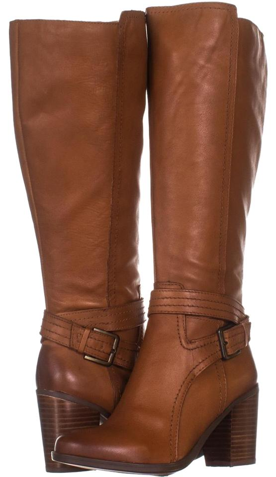 Naturalizer Brown Kelsey Wide Calf Knee High 909 Maple 35 5 Boots