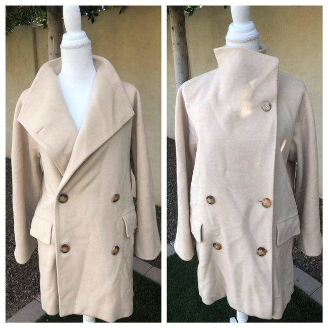 Item - Cream 2 In 1 Coat Size 8 (M)