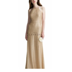Bill Levkoff Rose Sequins Style #1416 Feminine Bridesmaid/Mob Dress Size 8 (M)