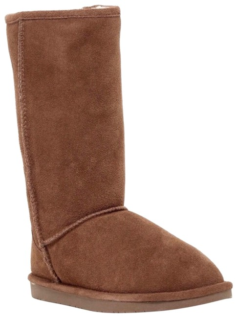 Abound Genuine Suede Shearling Lined Tan Tall Boots/Booties Size US 6 Regular (M, B) Abound Genuine Suede Shearling Lined Tan Tall Boots/Booties Size US 6 Regular (M, B) Image 1