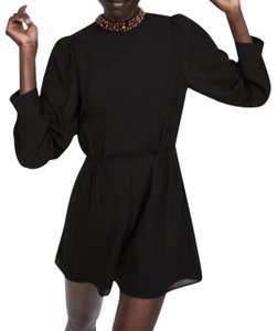 fc970b9a1901 Black Zara Rompers   Jumpsuits - Up to 70% off a Tradesy