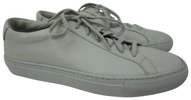 Common Projects Grey Achilles Low Sneakers Size EU 40 (Approx. US 10) Regular (M, B) Common Projects Grey Achilles Low Sneakers Size EU 40 (Approx. US 10) Regular (M, B) Image 1