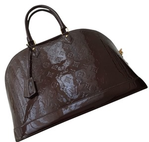 Louis Vuitton Tote in Dark Red Wine Color