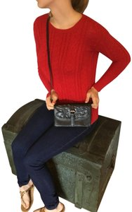 Patricia Nash Designs Tooled Leather Black Clutch
