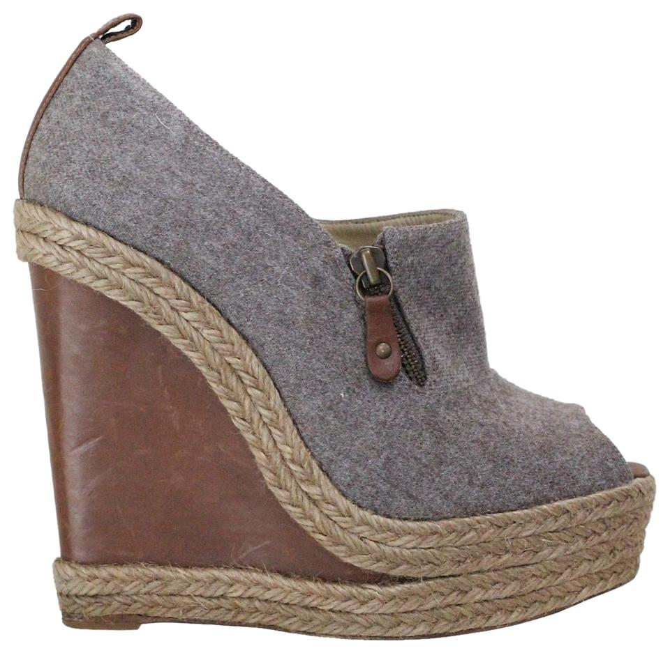 c7fd62fb75f7 Grey Christian Louboutin Wedges - Up to 90% off at Tradesy