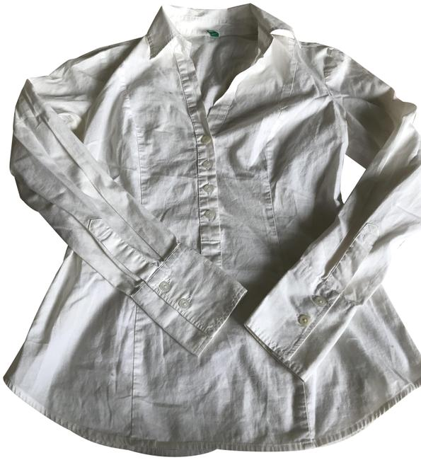 Item - White Shirt Button-down Top Size 0 (XS)