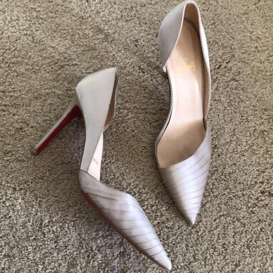Preload https://img-static.tradesy.com/item/24948666/christian-louboutin-champagne-pumps-size-eu-40-approx-us-10-narrow-aa-n-0-0-540-540.jpg