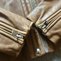 IRO brown camel tan Leather Jacket Image 4