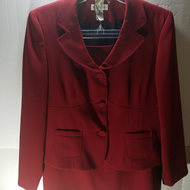 Preload https://img-static.tradesy.com/item/24948774/worthington-red-wine-2pc-skirt-suit-size-16-xl-plus-0x-0-8-650-650.jpg