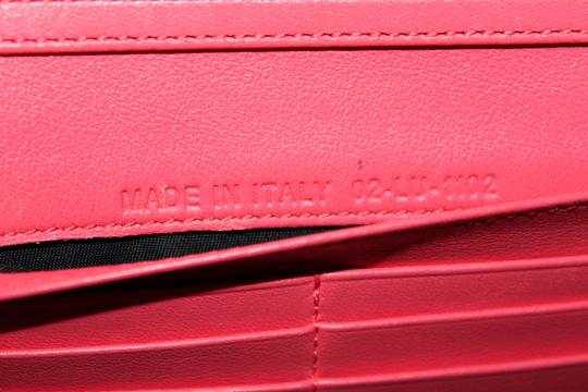 Dior Christian Dior Coral Pink Patent Cannage Miss Dior Rendezvous Wallet Image 11