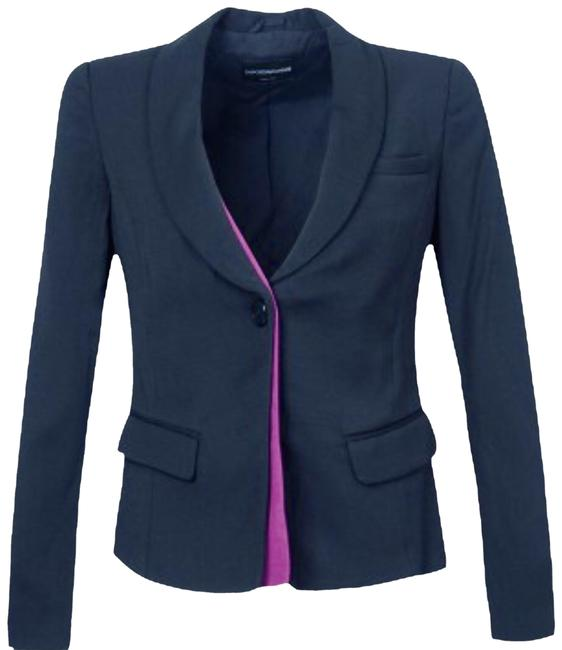 Preload https://img-static.tradesy.com/item/24949080/emporio-armani-black-blazer-with-purple-hidden-insert-pant-suit-size-6-s-0-1-650-650.jpg