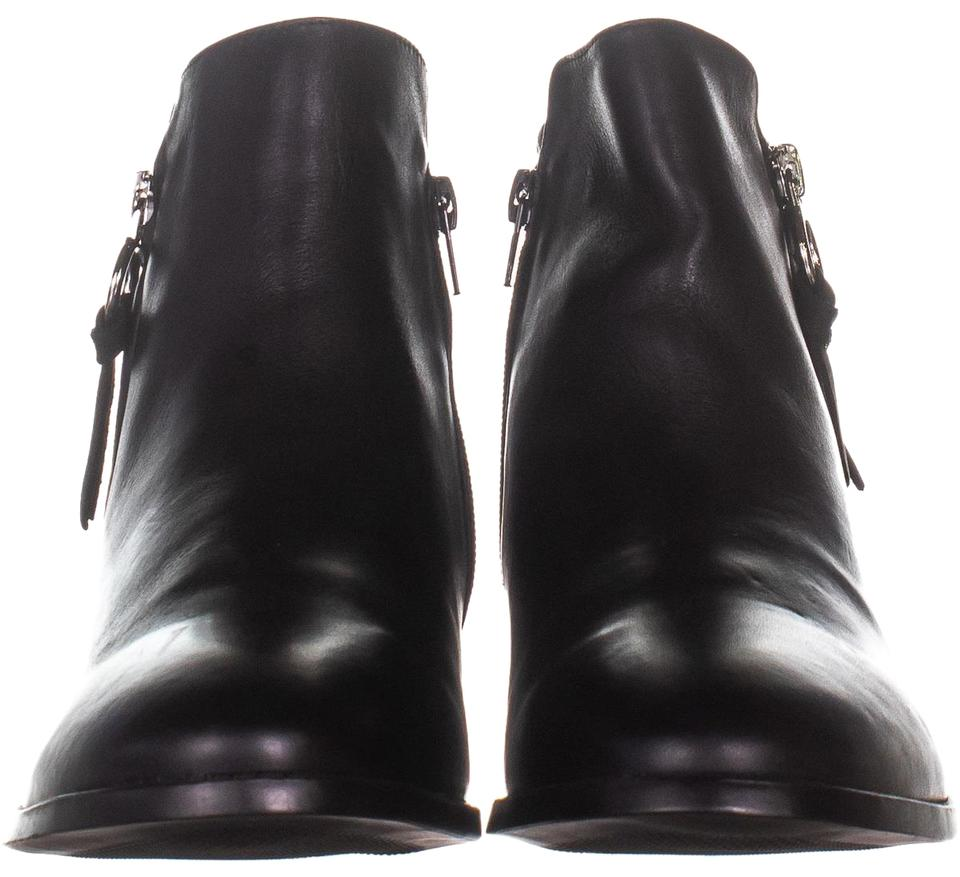 df6ceca24ce Steve Madden Black Dacey Ankle 730 Leather Boots Booties Size US 10 ...